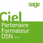 label Partenaire Formateur DSN décerné à 4G.OF par CIEL
